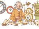 Google посвятил doodle Джону Гаррисону