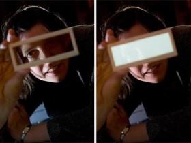 прозрачные OLED-светильники