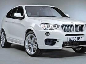 ОФИЦИАЛЬНЫЕ ФОТО внедорожника BMW X4