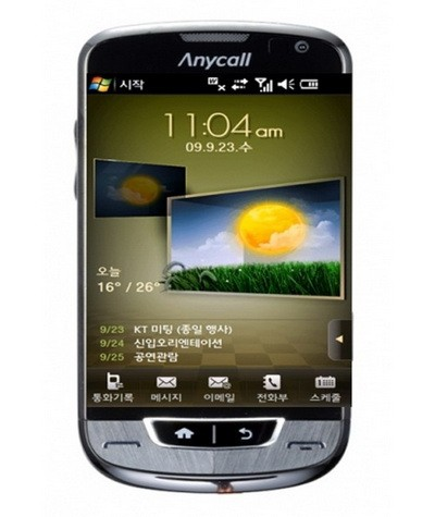 Очередной WiMAX телефон с жидкокристаллическим экраном от «Самсунг»