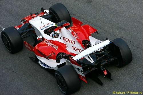 Тойота F1: Статистика сезонов