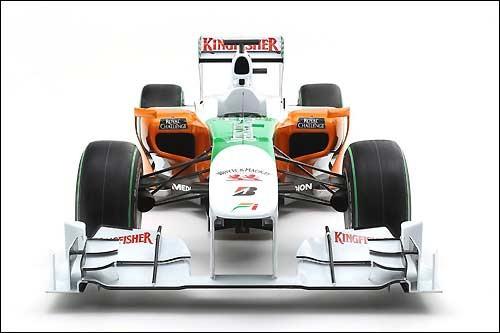Force India VJM03: Демонстрация (ФОТО)