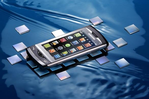 «Самсунг» Wave: первый телефон на Bada + Блютуз 3.0 (ФОТО)