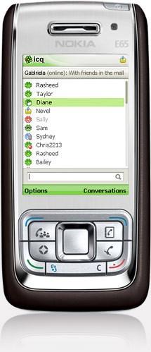 ICQ mobile - Дополнение для телефонных аппаратов с Java