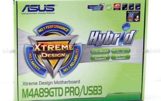 ASUS М4A89GTD Pro USB3 – материнка на основе чипа AMD 890GX