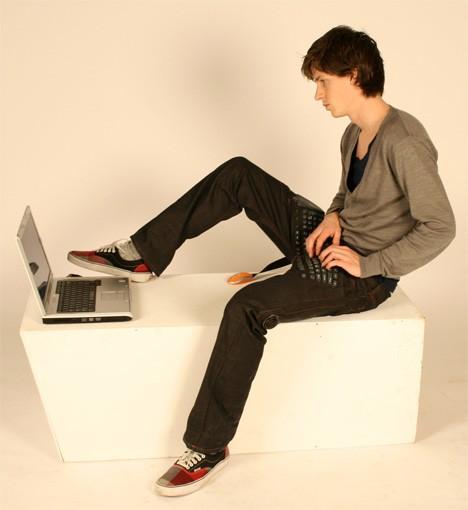 Клавиатура встроенная в брюки (ФОТО)