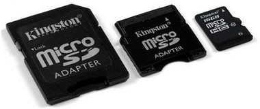 King произвел высокоскоростную карту памяти microSDHC на 16 Гигабайт