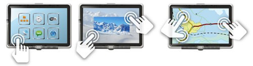 Емкостный экран с четкой помощью стилуса от Cypress