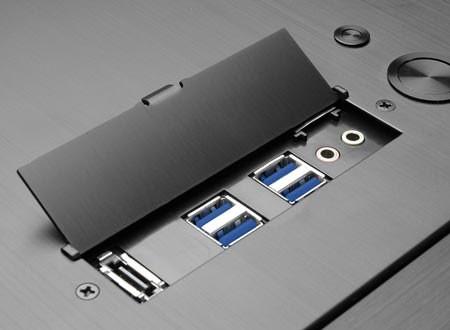 Сделанный из алюминия каркас PC-A77F от Lian Li