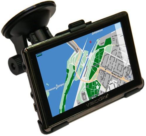 Тонкий GPS наводчик Visicom A1050 slim