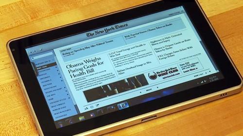Обновленный планшетник HP Slate стукнет стоимостью по iPod