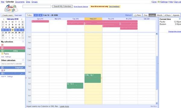 «Гугл» Calendar меняет собственный внешний облик