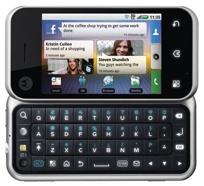 Американцы обретут обновленный телефон Motorola BACKFLIP 8 Мая