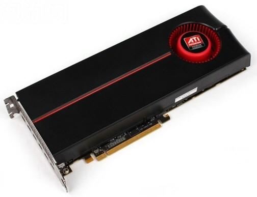 Карта памяти AMD Radeon HD 5870 Eyefinity 6 в реализации с мая