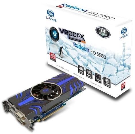 Sapphire Radeon HD 5850 Vapor-X и Toxic - официально!