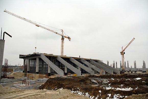Первая трибуна стадиона во Львове: репортаж (ФОТО)