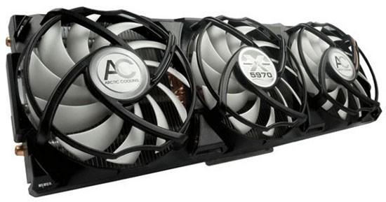 Свежие кулеры от Arctic Cooling для Radeon HD 5870/ 5970