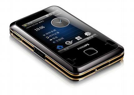 D900 - тачфон на Виндоус Mobile от Philips