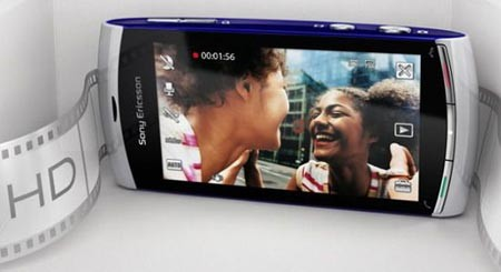Сони Эриксон U5i Vivaz может похвастать HD-видео