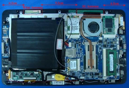 Планшетник JooJoo выполнен на Intel Atom и Nvidiа ION
