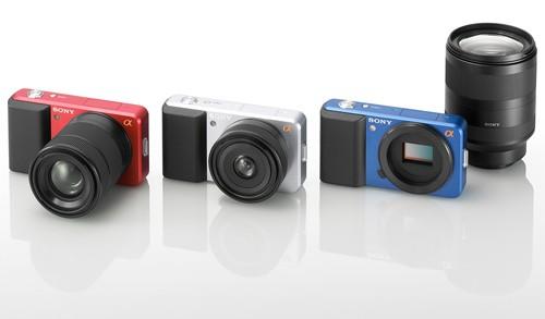 Сони продемонстрировала концепт-камеру Alpha EVIL