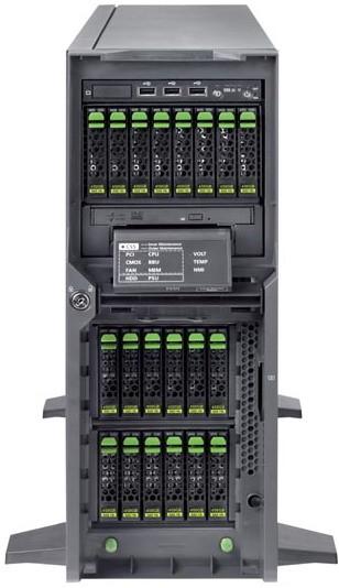 Primergy: - двухпроцессорные компьютеры на Intel Xeon 5600