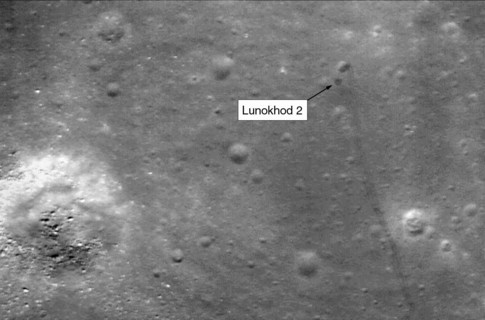 На Луне замечен «Луноход-2» (ФОТО)