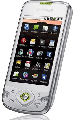 «Самсунг» обновит Галакси Spica I5700 до Андроид 2.1