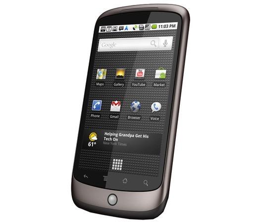 Nexus One берут значительно хуже певого Айфон и Droid