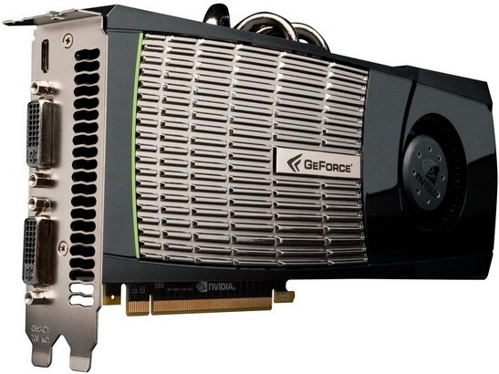 GPU nvidiа GeForce GTX 480 вводит 3D-игры на абсолютно новый уровень
