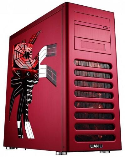 PC-8FI – сделанный из алюминия Mid-Tower для игроков в компьютерные игры