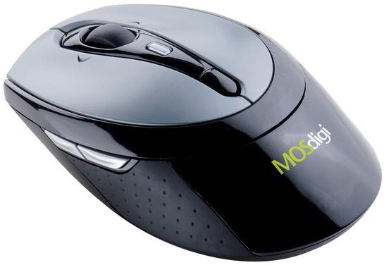 DM969: беспроводная мышь с нагибаемым колесиком