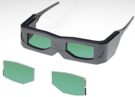 OCB-панели для 3D-очков от Toshiba