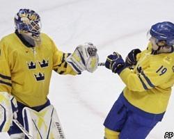 ЧМ: Швеция и Чехия вышли в полуфинал