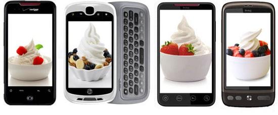 Телефоны HTC 2010-года восстановят до Андроид 2.2 к декабрю