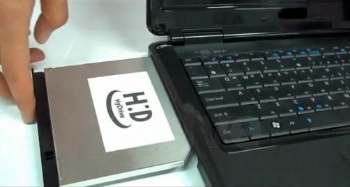 HyDrive – зрительный привод + SSD накопитель от Hitachi и «ЭлДжи»