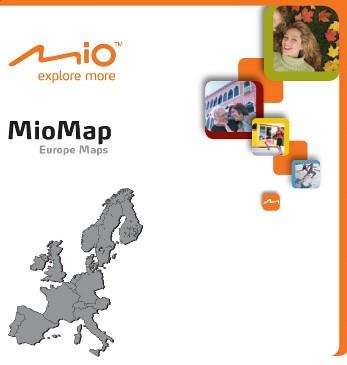Карты Европы на microSD для навигаторов Mio Moov С