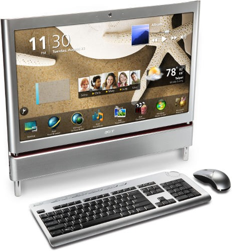"Aspire Z5710 - 23"" Телевизор + multi-touch от Acer"