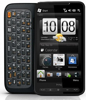 HTC готов клавиатурный пример HD2 на Виндоус Phone