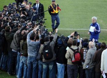 Доменек прочитал открытое послание игроков сборной Франции