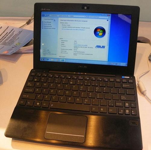 Eee PC 1018P с DDR3 будет в III квартале