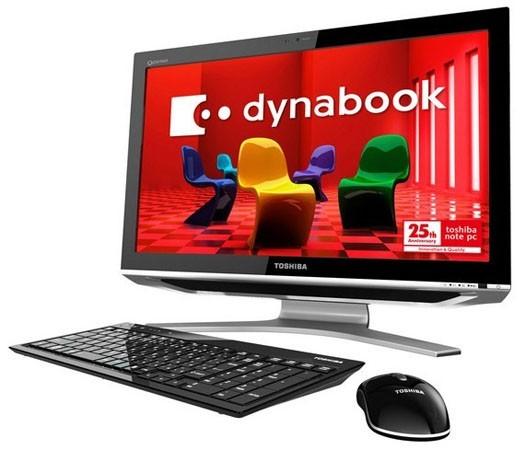 """Dynabook Qosmio DX – первый ПК """"все-в-одном"""" от Toshiba"""