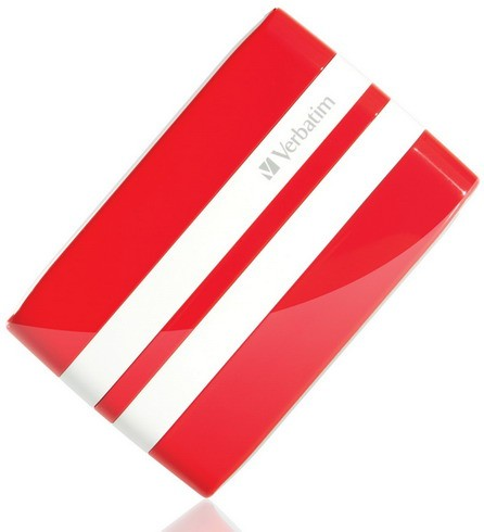 """ДжиТи HDD: """"гоночный"""" миниатюрный диск на 500 Гигабайт от Verbatim"""