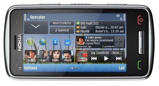 Нокия C6 - телефон для общения и мобильных развлечений