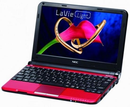 LaVie Light: Ноутбуки с экранами большого разрешения