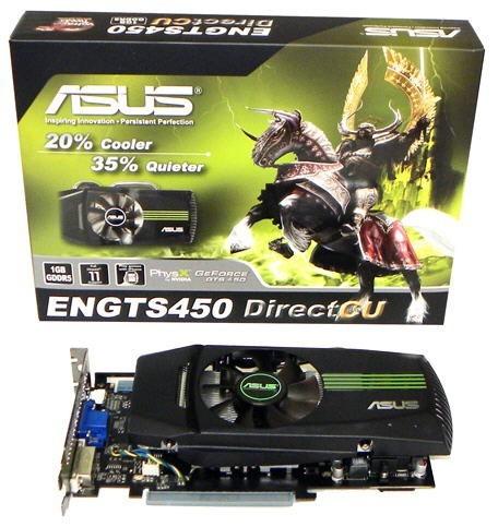 GeForce GTS 450 с технологией замораживания DirectCU