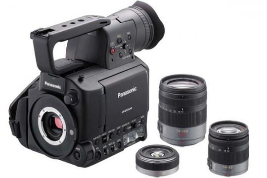 AG-AF105: профи-видеокамера стереотипа Micro 4/3 за $10 000