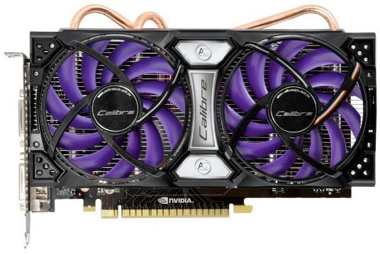 GeForce GTS 450 карты памяти с улучшенным замораживанием