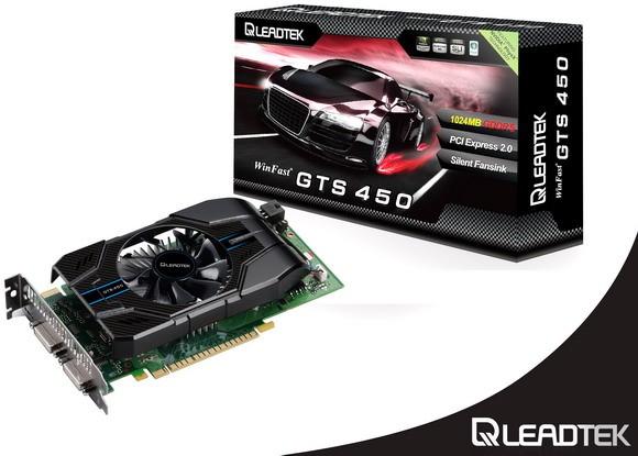 WinFast GTS 450 Extreme: скорая и прохладная карта памяти