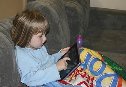 3-х летний малыш спаял мамину кредитную карту на игры для iPod